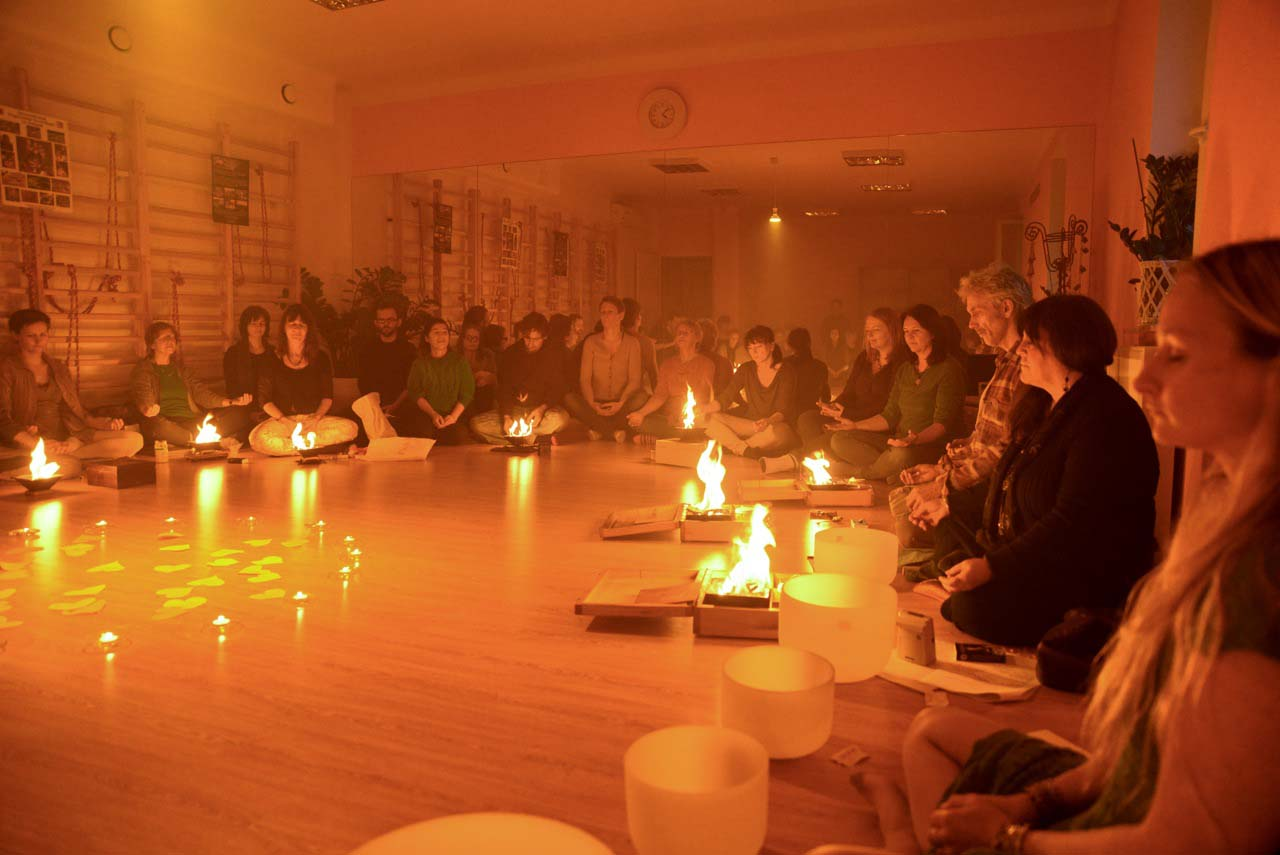 Fire & Sound Healing for Fukushima in Krakow 12221609564