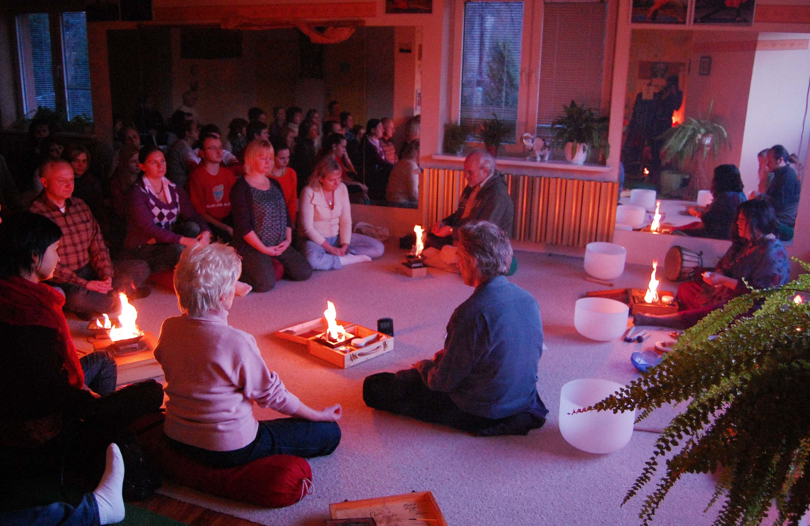 sound healing with fire in Bielsko Biala 12221734066